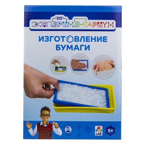 Набор для опытов 1TOY Экспериментариум Изготовление бумаги (Т14057)