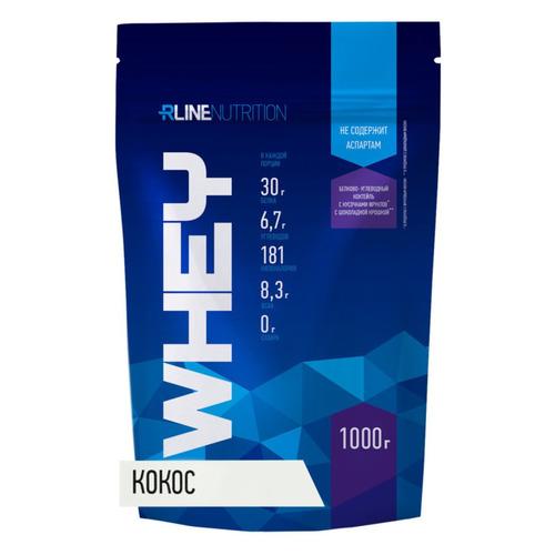 Протеин RLINE WHEY, порошок, 1кг, кокос