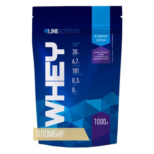 Протеин RLINE WHEY, порошок, 1кг, Пломбир