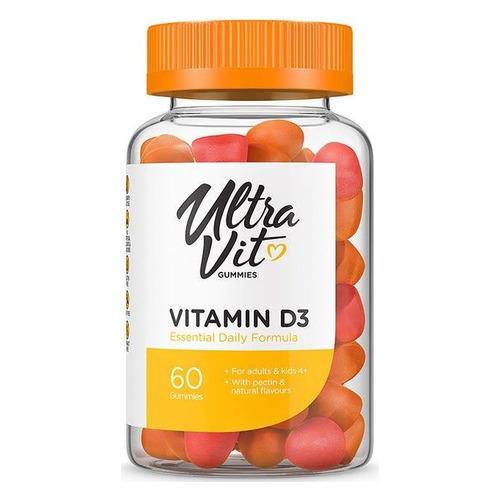 vitamin d3 blister 30 capsules Витамин ULTRAVIT Vitamin D3, Жевательные пастилки, 60шт [vp57385]