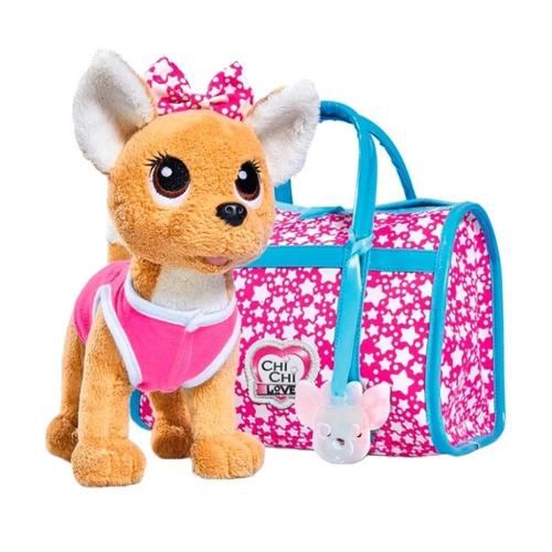 Мягкая игрушка Simba Chi-Chi love Плюшевая собачка Звездный стиль (5893115) розовый 20см (5+)