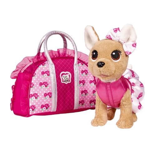 Мягкая игрушка Simba Chi-Chi love Плюшевая собачка Модная (5893346) кремовый 20см (5+)