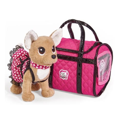 Мягкая игрушка Simba Chi-Chi love Плюшевая собачка Париж (5893123) кремовый 20см (5+)