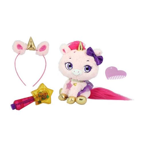 Мягкая игрушка Shimmer Stars Плюшевый единорог (S19301) розовый/фиолетовый 20см (4+)
