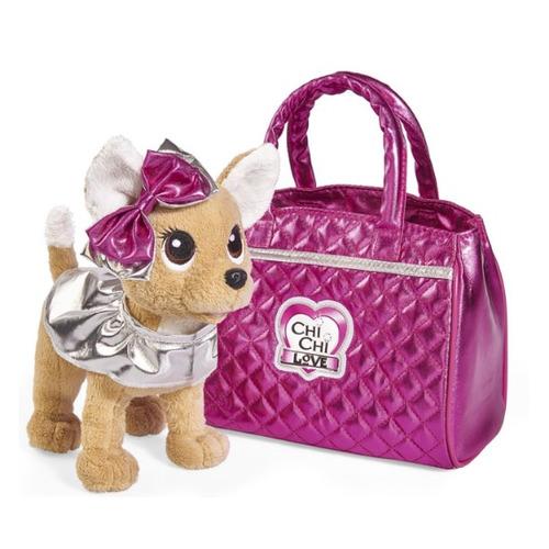 Мягкая игрушка Simba Chi-Chi love Плюшевая собачка Гламур (5893125) кремовый/розовый 20см (5+)