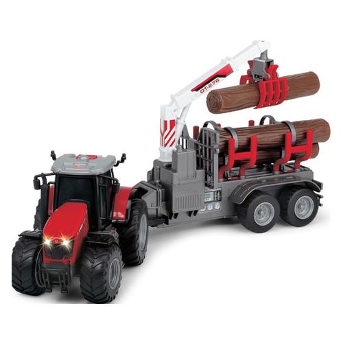 Игрушка DICKIE Farm Massey Ferguson 8737 с прицепом, трактор [3737003] hot sale 3429996m1 cross joint universal joint suitable for massey ferguson tractor parts