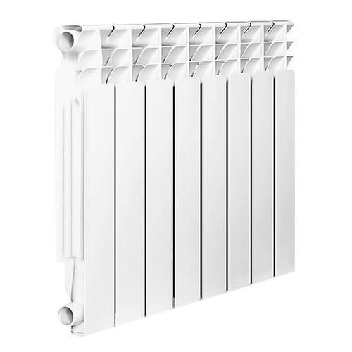 Радиатор OASIS 500/80/8, 8 секций, алюминий биметаллический радиатор rifar рифар b 500 нп 10 сек лев кол во секций 10 мощность вт 2040 подключение левое