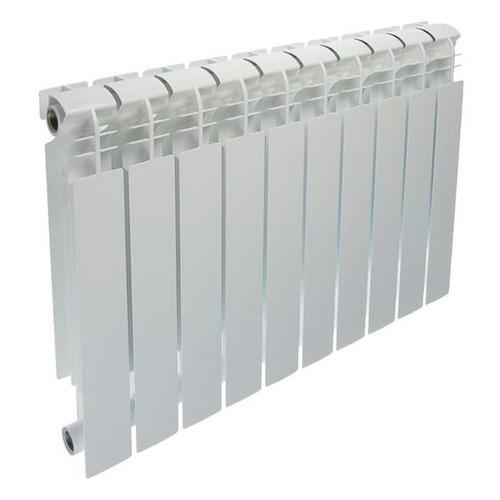 Радиатор биметаллический OASIS 500мм х 10 секций, боковое [500/100/10]