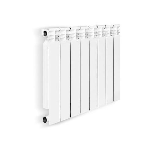 Радиатор биметаллический OASIS 500мм х 8 секций, боковое [500/100/8]