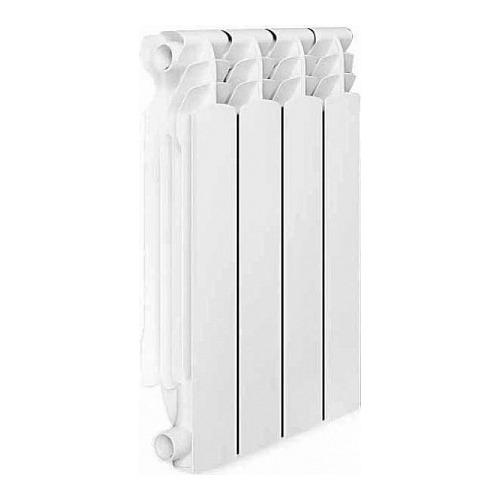 Радиатор OASIS 500/100/4, 4 секций, биметаллический биметаллический радиатор rifar рифар b 500 нп 10 сек лев кол во секций 10 мощность вт 2040 подключение левое