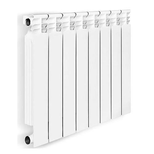 Радиатор OASIS 500/80/8, 8 секций, биметаллический биметаллический радиатор rifar рифар b 500 нп 10 сек лев кол во секций 10 мощность вт 2040 подключение левое