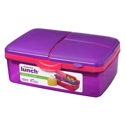 Набор хранения Sistema Lunch 3965 прямоуг. 1.5л. пластик многоцветный наб.:2пред. недорого