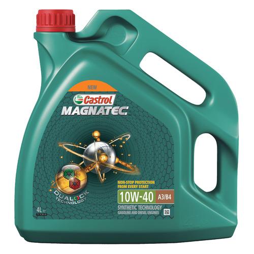 Фото - Моторное масло CASTROL Magnatec 10W-40 4л. полусинтетическое [15ca24] полусинтетическое моторное масло castrol vecton 10w 40 7 л
