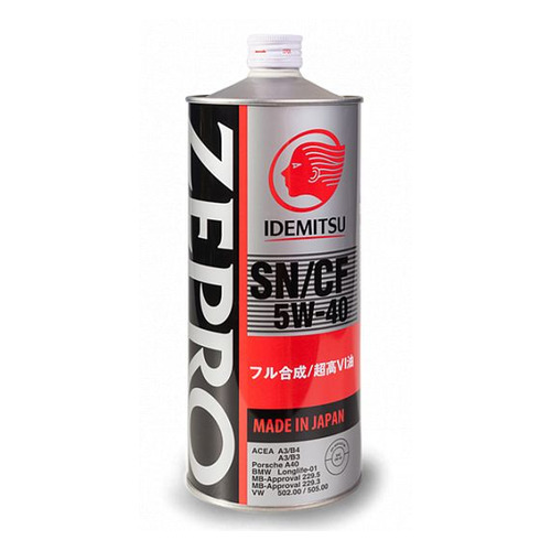 Моторное масло IDEMITSU Zepro Euro Spec 5W-40 1л. синтетическое [1849001]