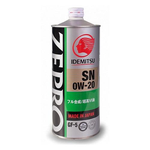 Моторное масло IDEMITSU Zepro Eco Medalist 0W-20 1л. синтетическое [3583001]