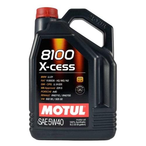 Моторное масло MOTUL 8100 X-cess 5W-40 5л. синтетическое [109776]