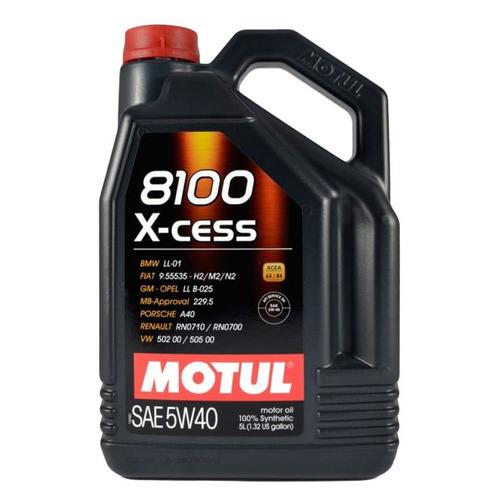 Моторное масло MOTUL 8100 X-cess 5W-40 4л. синтетическое [109775]