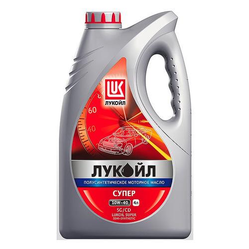 Моторное масло LUKOIL Супер 10W-40 4л. полусинтетическое [19192]