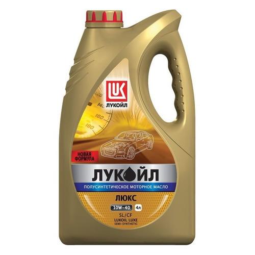 Моторное масло LUKOIL Люкс 10W-40 4л. полусинтетическое [19188]
