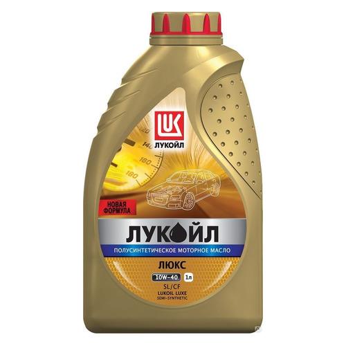 Моторное масло LUKOIL Люкс 10W-40 1л. полусинтетическое [19187]