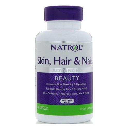 БАД NATROL Skin Hair and Nails, капсулы, 60шт [7140]