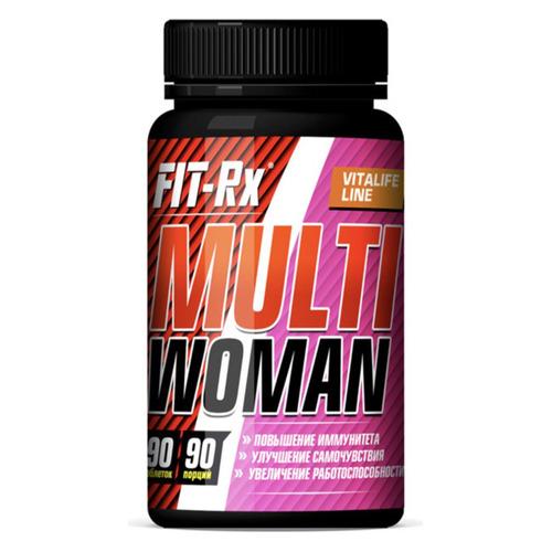 Витаминно-минеральный комплекс FIT-RX Multi Woman, таблетки, 90шт [01070]