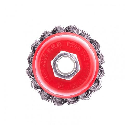 Щетка дисковая MATRIX 74620, по металлу, 65мм, 14мм, 1шт