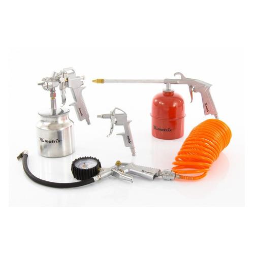 Набор пневмоинструментов MATRIX 57302, 5 предметов