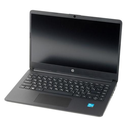 "Ноутбук HP 14s-dq2010ur, 14"", IPS, Intel Pentium Gold 7505 2.0ГГц, 8ГБ, 512ГБ SSD, Intel UHD Graphics , Free DOS 3.0, 2X1P6EA, черный"