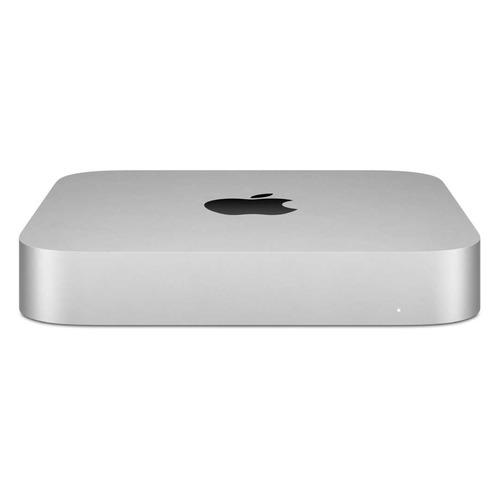 Компьютер Apple Mac mini MGNR3RU/A, Apple M1, 8ГБ, 256ГБ(SSD), macOS, серебристый