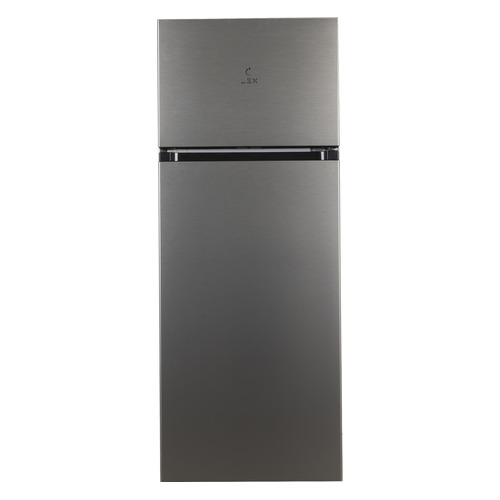 Фото - Холодильник LEX RFS 201 DF IX, двухкамерный, серебристый металлик холодильник lex rfs 202 df ix