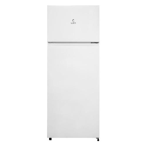 Холодильник LEX RFS 201 DF WH, двухкамерный, белый