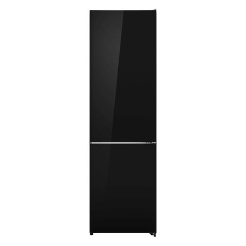 Холодильник LEX RFS 204 NF BL, двухкамерный, черный