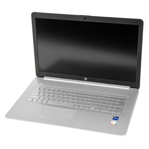 "Ноутбук HP 17-by4000ur, 17.3"", IPS, Intel Core i7 1165G7 2.8ГГц, 16ГБ, 512ГБ SSD, Intel Iris Xe graphics , Windows 10, 2X1T1EA, серебристый"