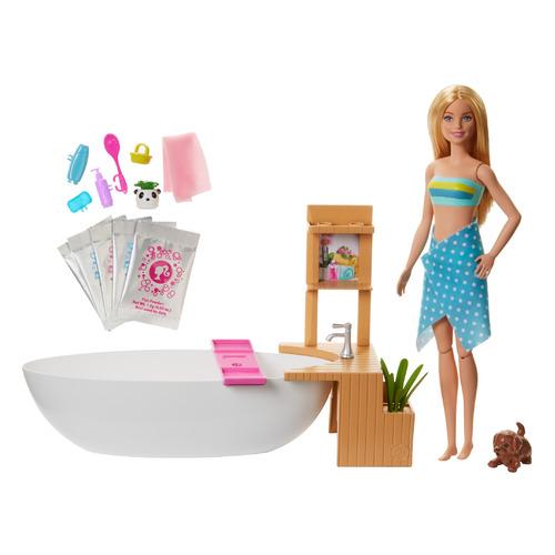 Фото - Игровой набор BARBIE СПА салон [gjn32] набор игровой barbie оздоровительный спа центр gjr84