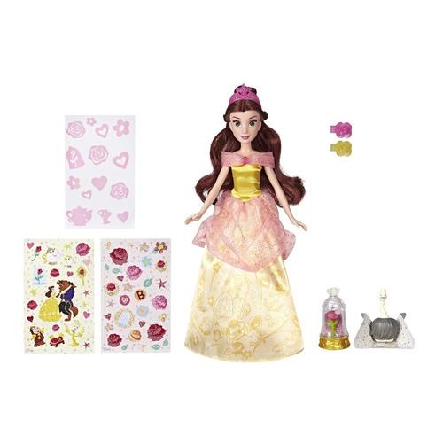 Кукла DISNEY PRINCESS Принцессы Дисней Сверкающая Белль, 30см [e5599eu4]