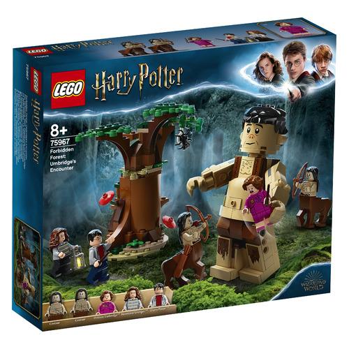 Конструктор LEGO Harry Potter Запретный лес Грохх и Долорес Амбридж, 75967 конструктор lego harry potter tm 75967 запретный лес грохх и долорес амбридж