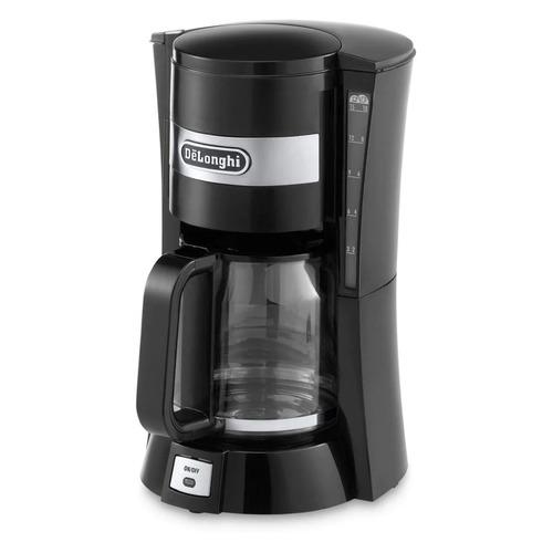 Фото - Кофеварка DELONGHI ICM15210.1 B, капельная, черный [132301081] кофеварка delonghi ec 685 w