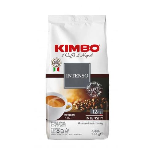 Кофе зерновой KIMBO Aroma Intenso, средняя обжарка, 1000 гр кофе в зернах kimbo aroma intenso 1 кг