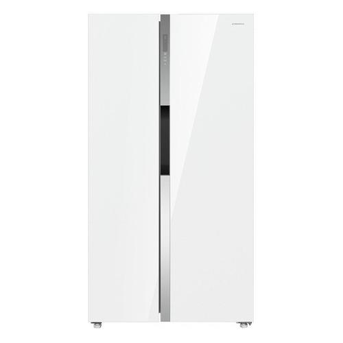 Холодильник MAUNFELD MFF177NFW, двухкамерный, белый