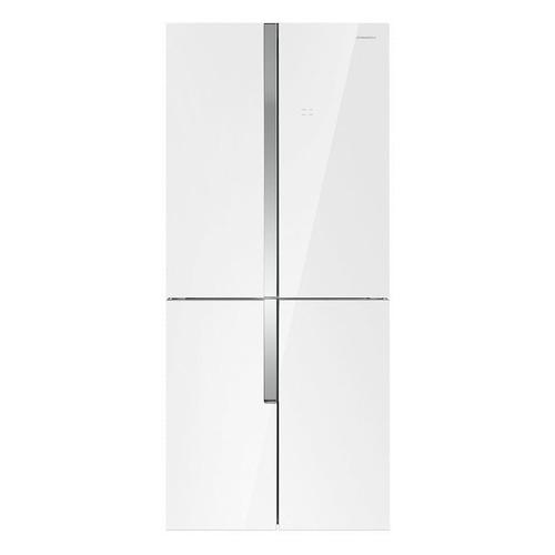 Холодильник MAUNFELD MFF182NFW, двухкамерный, белый