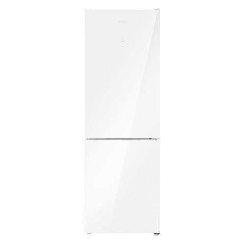 Холодильник MAUNFELD MFF185NFW, двухкамерный, белый
