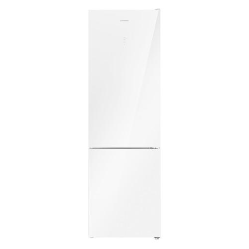 Холодильник MAUNFELD MFF200NFW, двухкамерный, белый