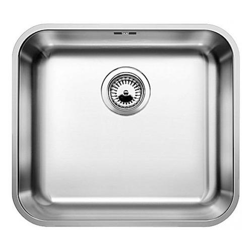 Фото - Кухонная мойка BLANCO Supra 450-U, нержавеющая сталь, 43см х 48см, нержавеющая сталь [518203] кухонная мойка blanco supra 450 u 518203