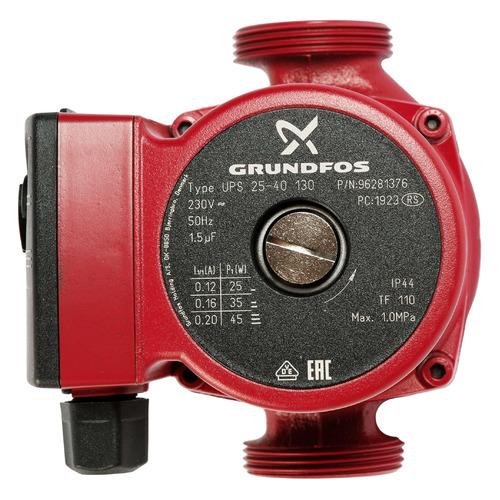 Насос циркуляционный GRUNDFOS UPS 25-40 130, напорный [нс-0027458]
