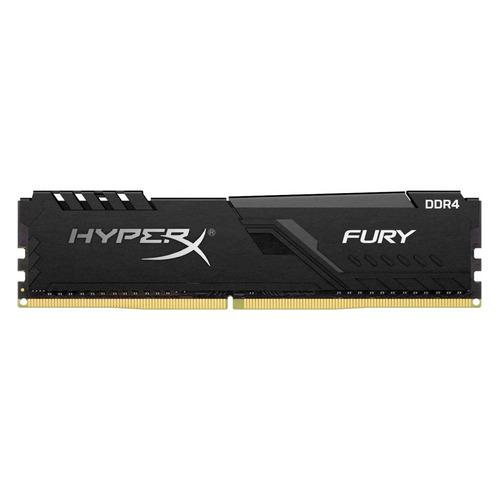 Модуль памяти KINGSTON HyperX FURY Black HX424C15FB4/16 DDR4 - 16ГБ 2400, DIMM, Ret