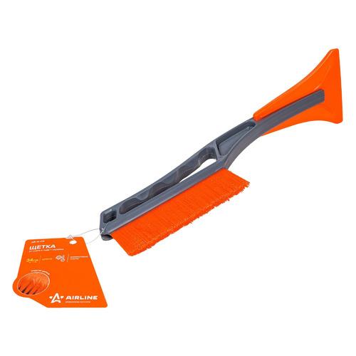 Фото - Щетка-скребок Airline AB-R-08 телескоп. 34 - 34см черный/оранжевый щетка скребок airline ab r 16 серый оранжевый