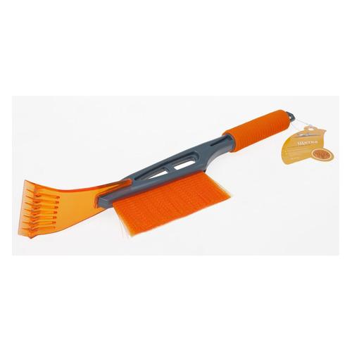 Фото - Щетка-скребок Airline AB-R-09 44 - 44см черный/оранжевый щетка скребок airline ab r 16 серый оранжевый