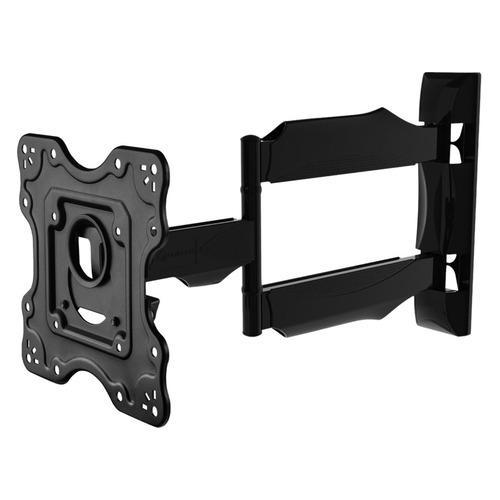Кронштейн для телевизора ONKRON NP28, 17-43, настенный, поворот и наклон кронштейн настенный onkron nn22 17 43 фиксированный до 30 кг черный