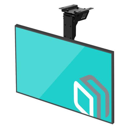 Фото - Кронштейн для телевизора ONKRON CR1S, 10-40, потолочный, поворот и наклон кронштейн потолочный onkron n1l vesa 100 600 до 68 2кг черн для телевизора